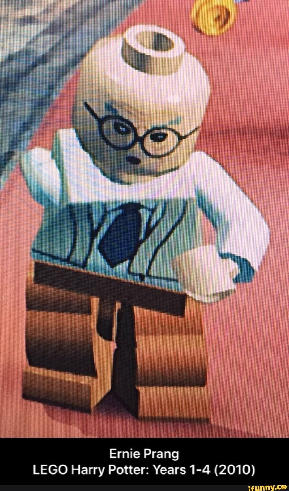 Ernie Prang Lego Harry Potter Years 1 4 2010 Ifunny Lego Harry Potter Harry Potter Memes Hilarious Harry Potter Years