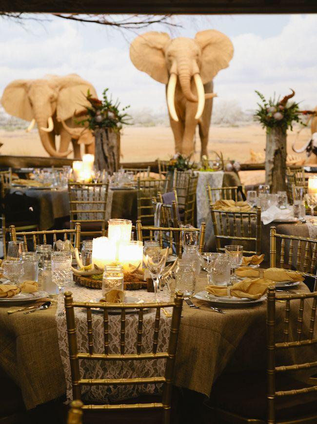 Amazing Location For A Wedding Safarijungle Theme Wedding