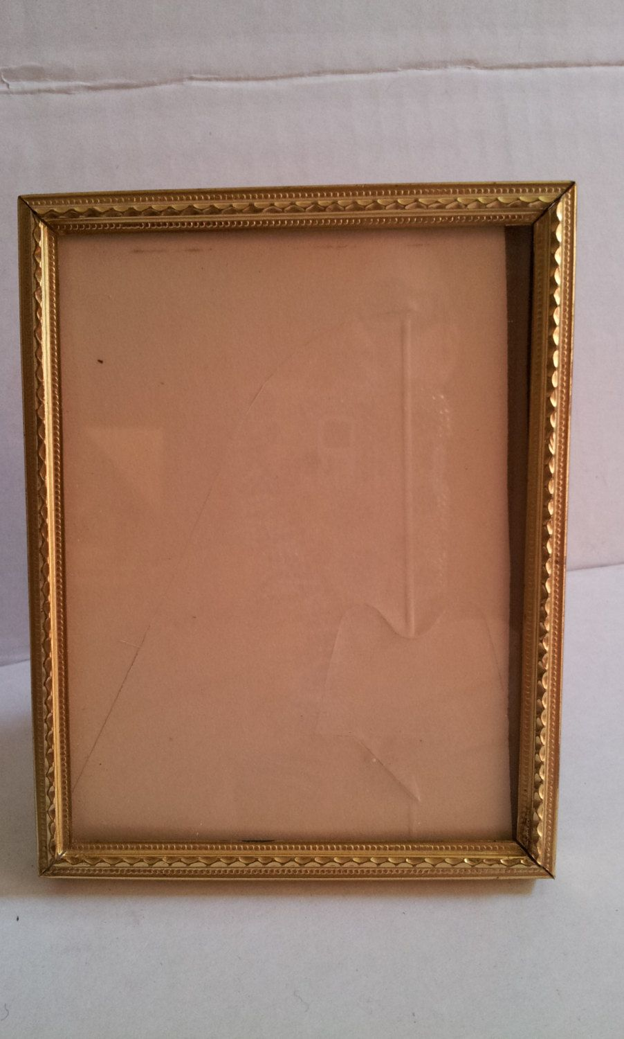 Small Gold Picture Frame Vintage 4 1/4 x 3 1/4 by ...
