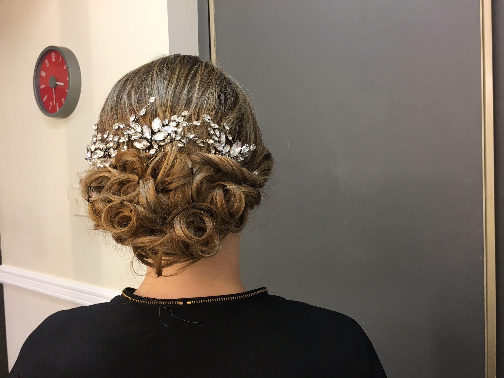 My hair and makeup trial pic heavy weddingbee wedding