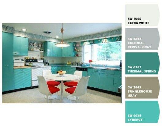 Como Hacer El Color Turquesa Con Pintura Para Paredes Búsqueda De Google Ideas De Diseño De Cocina Cocina Turquesa Diseño De Cocina