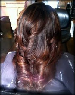 Color, Balayage and Haircut by Mari at Brassfield's Salon and Spa