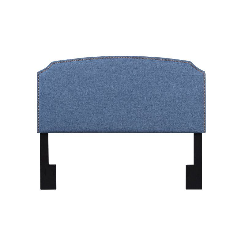 American Woodcrafters Simone Ocean Upholstered Headboard   Youu0027ll Love How  The Ocean Color Of The American Woodcrafters Simone Ocean Upholstered  Headboard ...