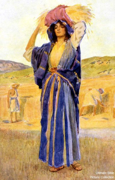 Ruth Was A Moabitess Who Married Into The Hebrew Family
