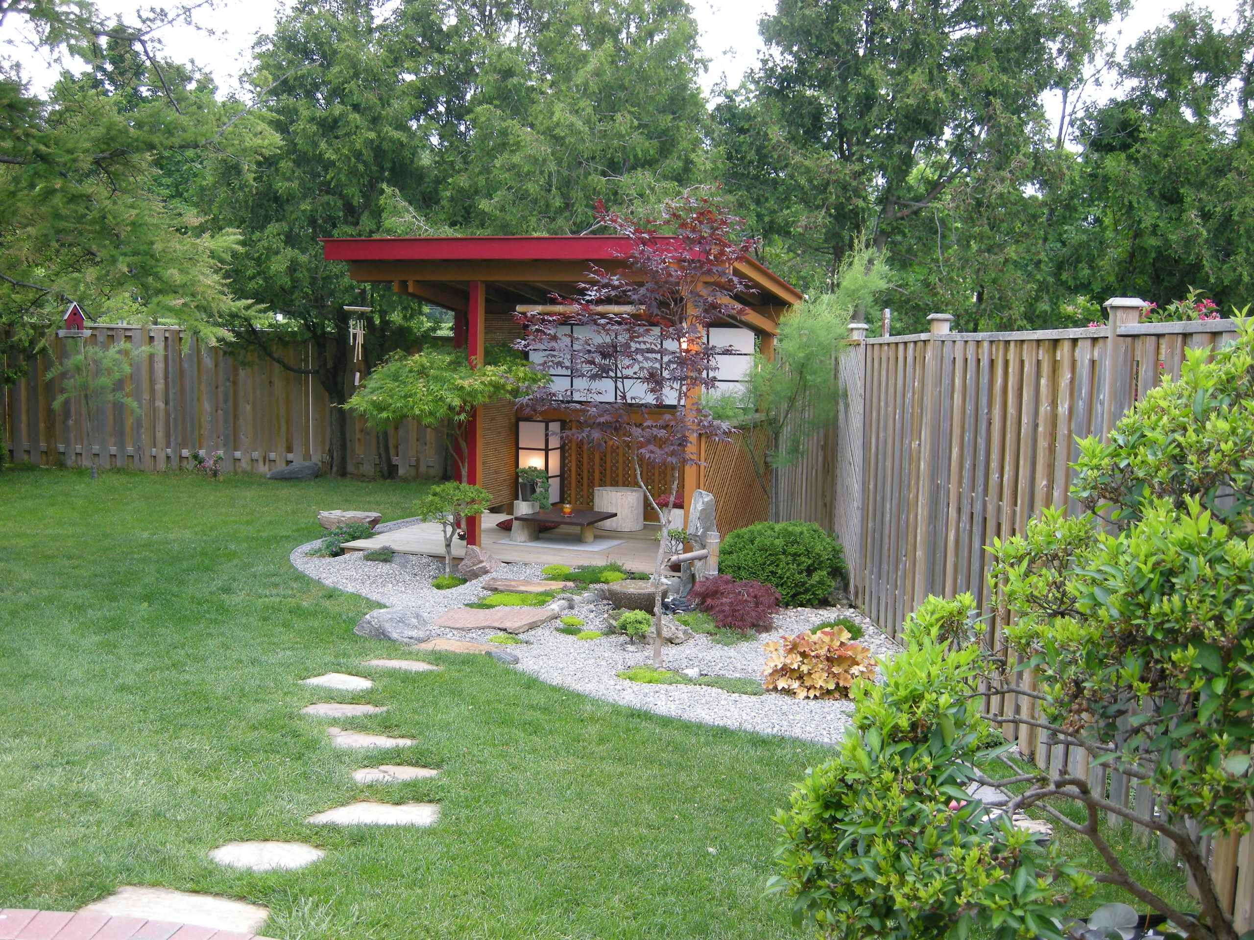 How To Make A Zen Garden Design In Your Backyard: Zen Garden Design In  Asian Landscape With Garden Fences And How To Make A Zen Garden In Your  Backyard Also ...