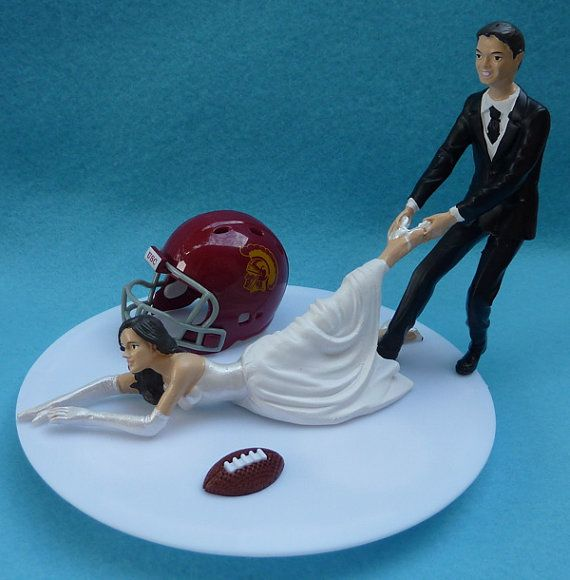 Wedding Cake Topper University Of Southern California Usc