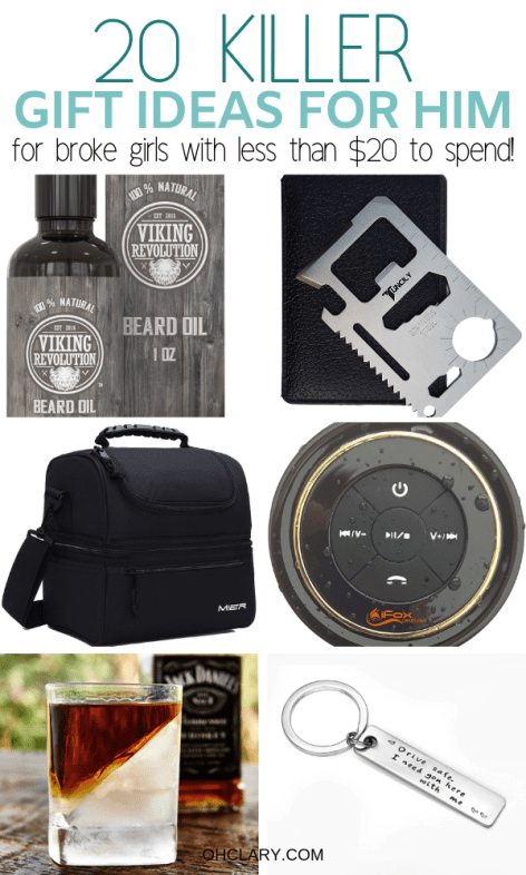 20 Gifts For Him Under 20 That Will Rock His World Surprise