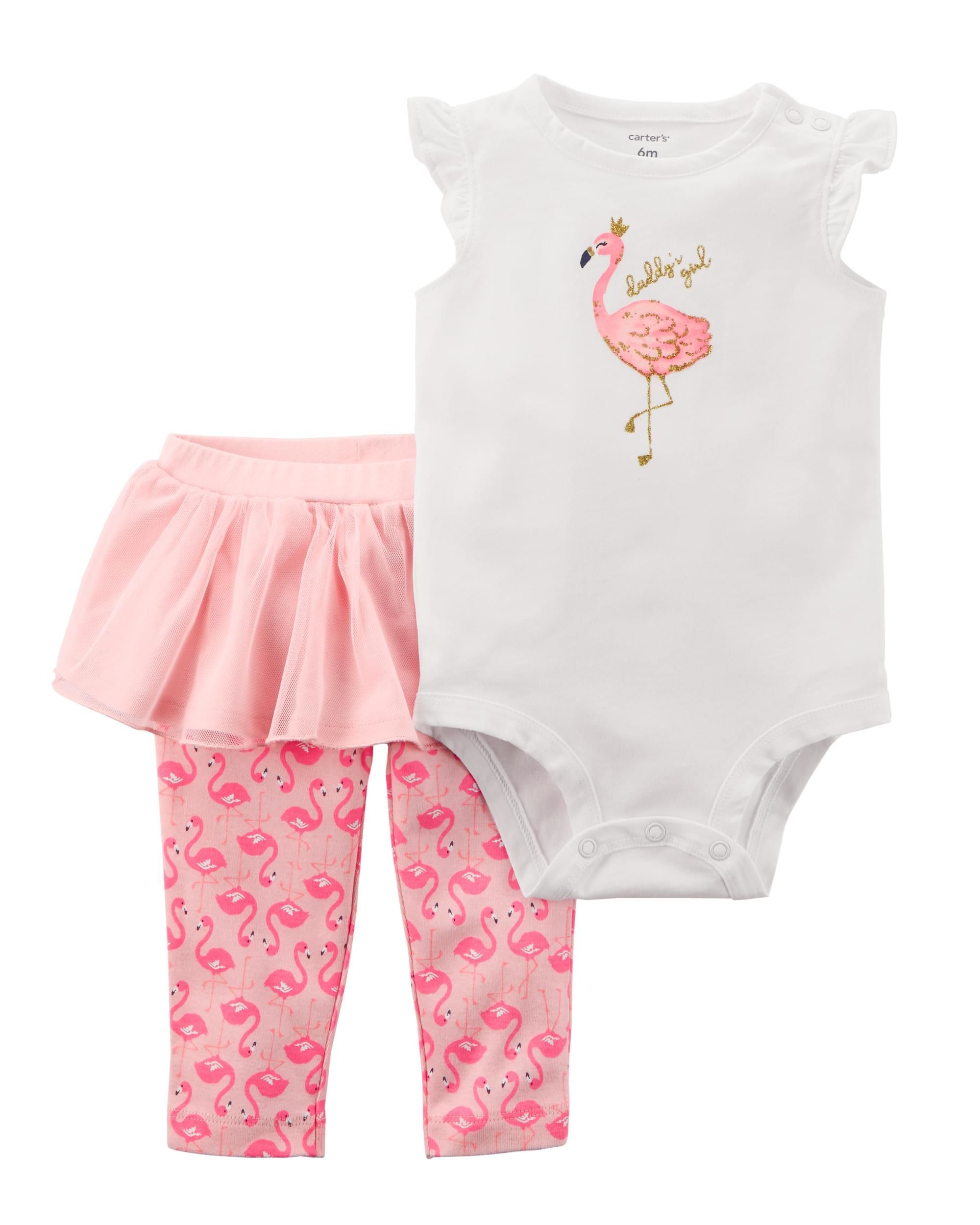 4dd7a1881 2-Piece Bodysuit & Tutu Pant Set | baby | Carters baby girl, Carters ...