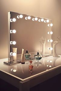 Mirror Finish Hollywood Makeup Dressing Room Mirror With Dimmable Lamps K253 Dressing Room Mirror Makeup Vanity Mirror With Lights Diy Vanity Mirror