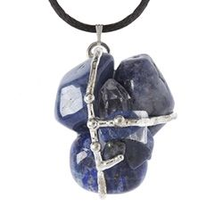 Our Indigo Amulet is made with...