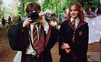 Harry Potter Hermione Granger Behind The Scenes Harry Potter Scene Harry Potter Pop Harry Potter Funny