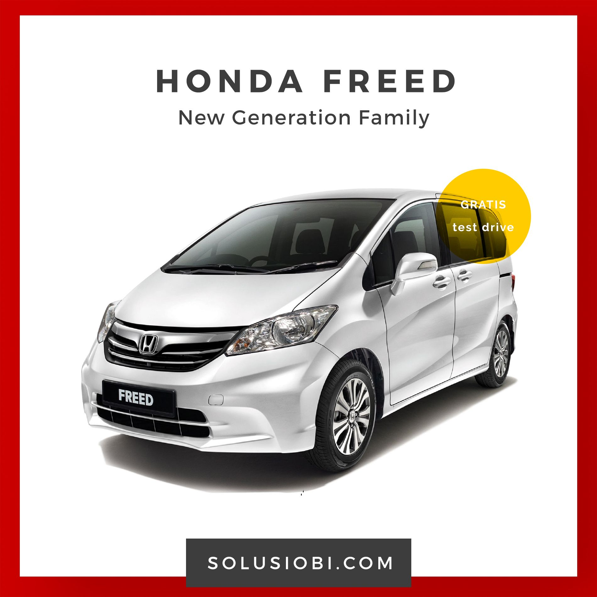 Mobil Honda Freed keluaran Terbaru 2017 | Mobil, Honda ...