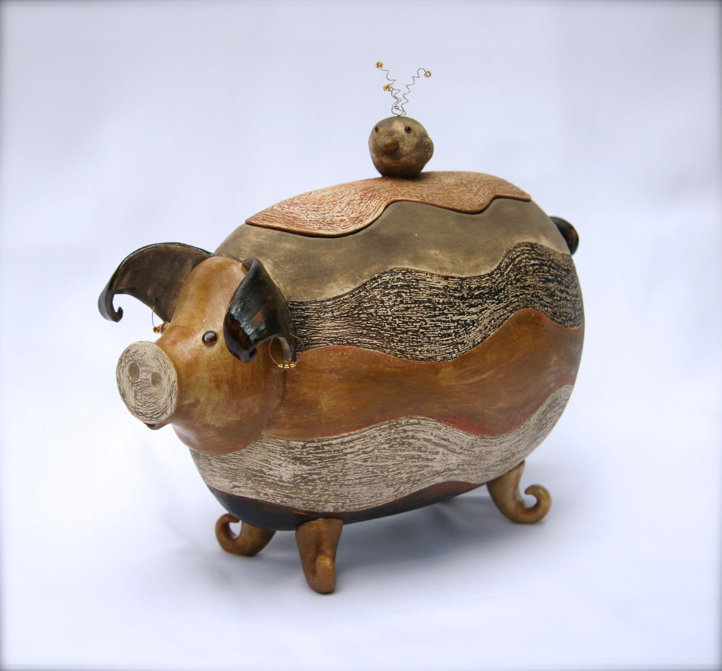 """""""Mr. Pig"""" SBB Gouda exam work. Ineke van Eden"""