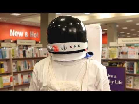 A Spacy Book Trailer Chris hadfield, Astronaut, Book