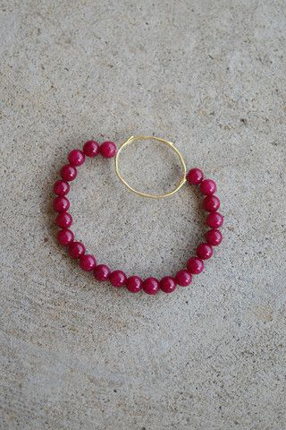Unity Circle Bracelet- Red