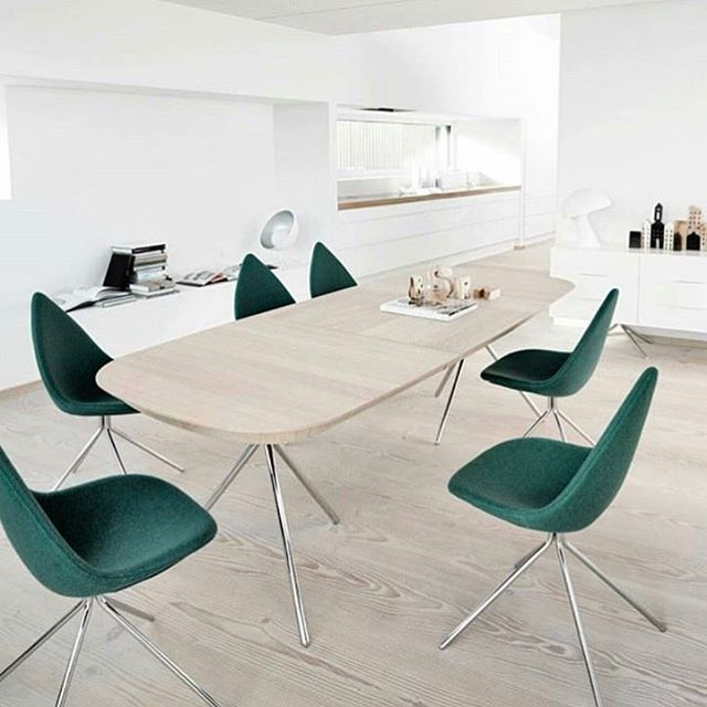 The Ottawa Dining Table, Chairs And Sideboard. All Designed By  @karim_rashid_official For #