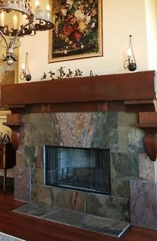 slate fireplace designs the slate stone fireplace veritably rh pinterest com