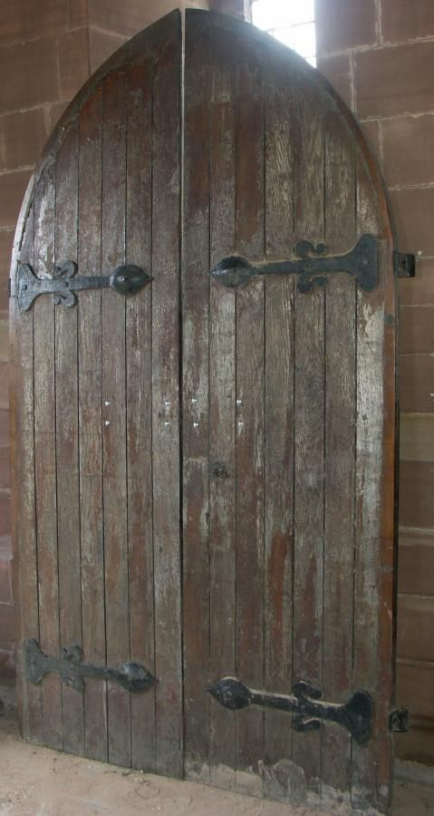 Antique Oak Church Doors Arched Doors Door Furniture