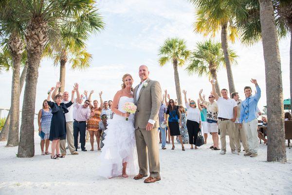 Brian James Photography Wyndham Garden Clearwater Beach Hotel Wedding Florida