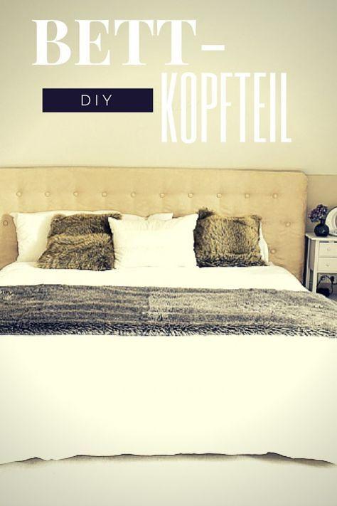 GroBartig Aufgemöbelt   DIY: Ein Kopfteil Fürs Bett