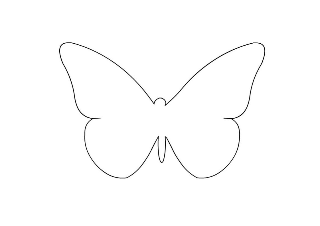 Disegni da colorare gli animali dell 39 aria impariamo e for Immagini farfalle da ritagliare