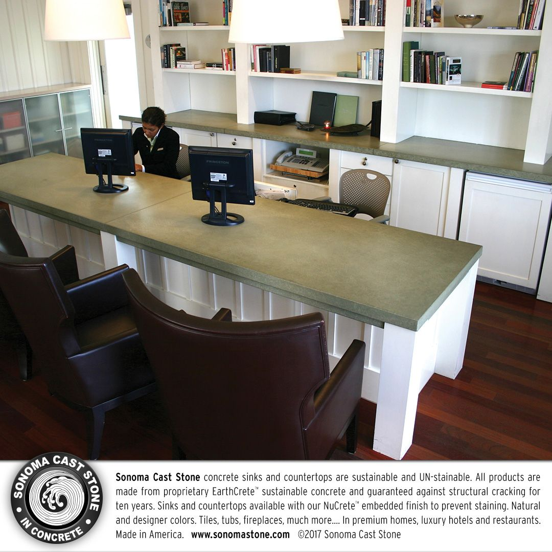 #Concrete #countertops From #sonomacaststone Have Set The Bar For #decor In  Premium