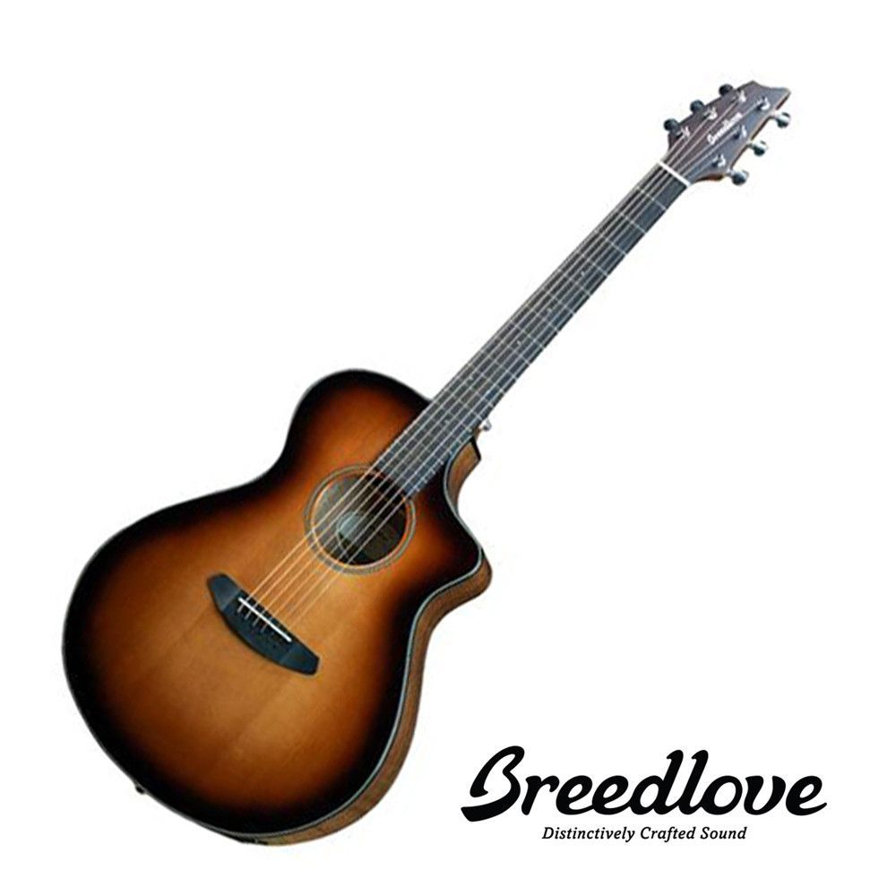 Breedlove Discovery Concert CE - Sunburst with Gig Bag
