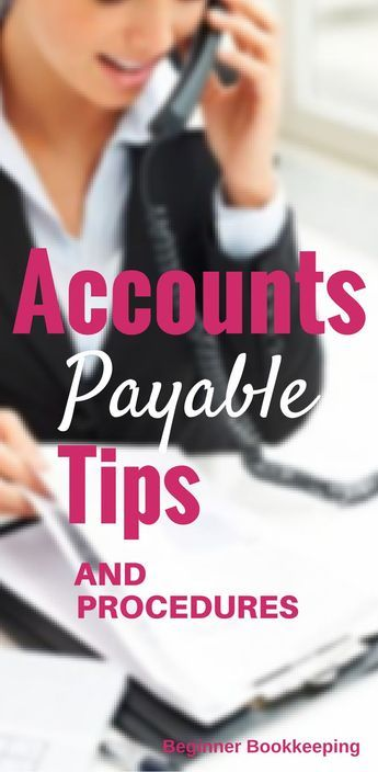 Accounts Payable Procedures Small business bookkeeping - free excel spreadsheet templates for small business