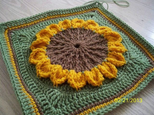 Ravelry: Project Gallery for Roadside Flower MYSTERY CAL pattern by Jessica Phillips
