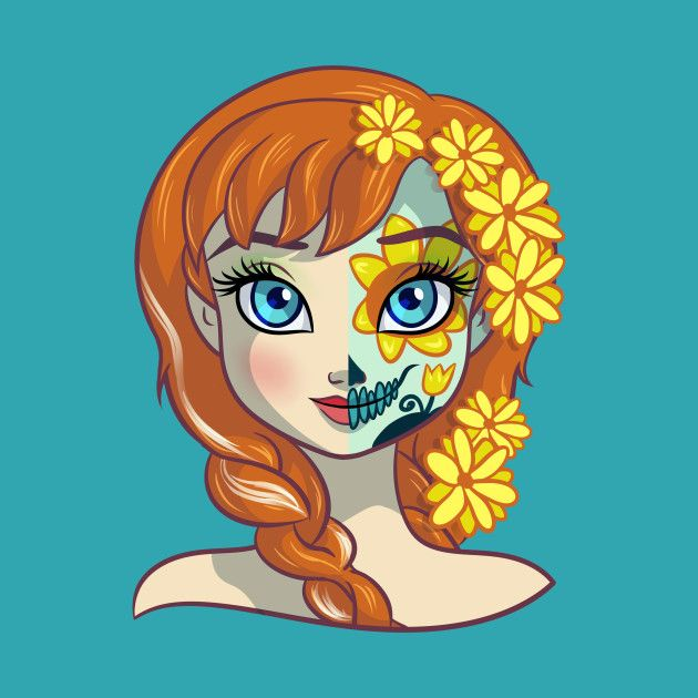 Sugar Skull Series: Anna by ellador