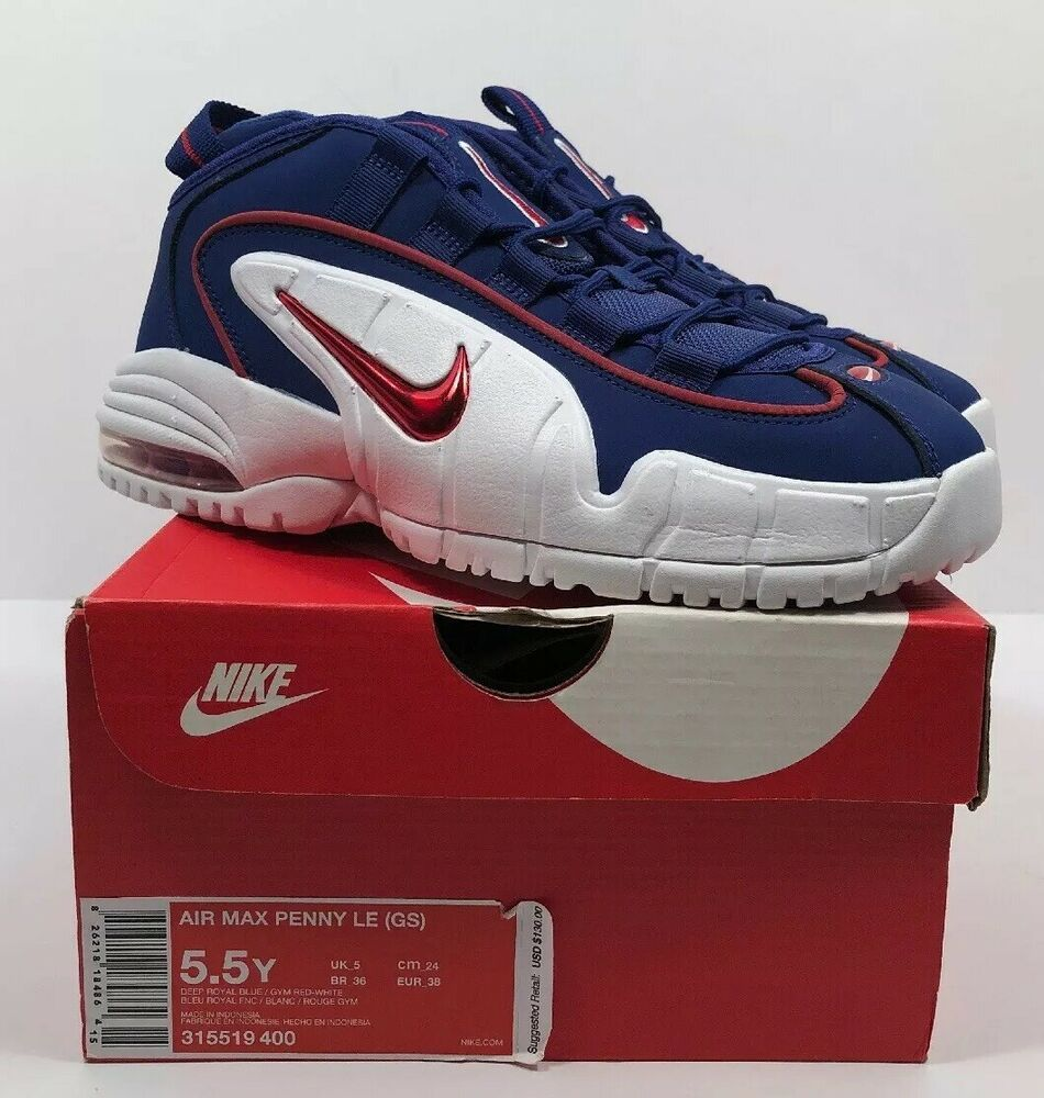super popular 7d08c 0b1c8 eBay  Sponsored Nike Air Max Penny LE (GS) Youth Size 5.5Y Deep