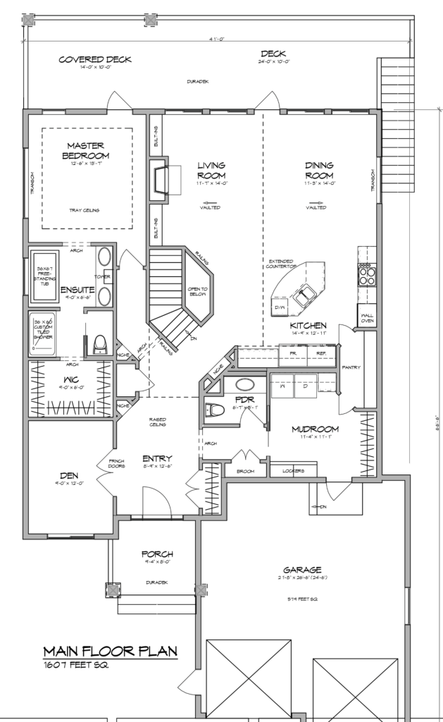 California Home Plan Rectangle House Plans House Plans Open Plan Kitchen Living Room