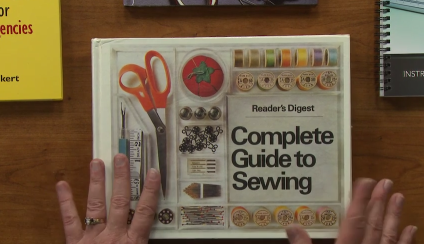Photo of Get tips for how to build a sewing library including what kinds of books to have…