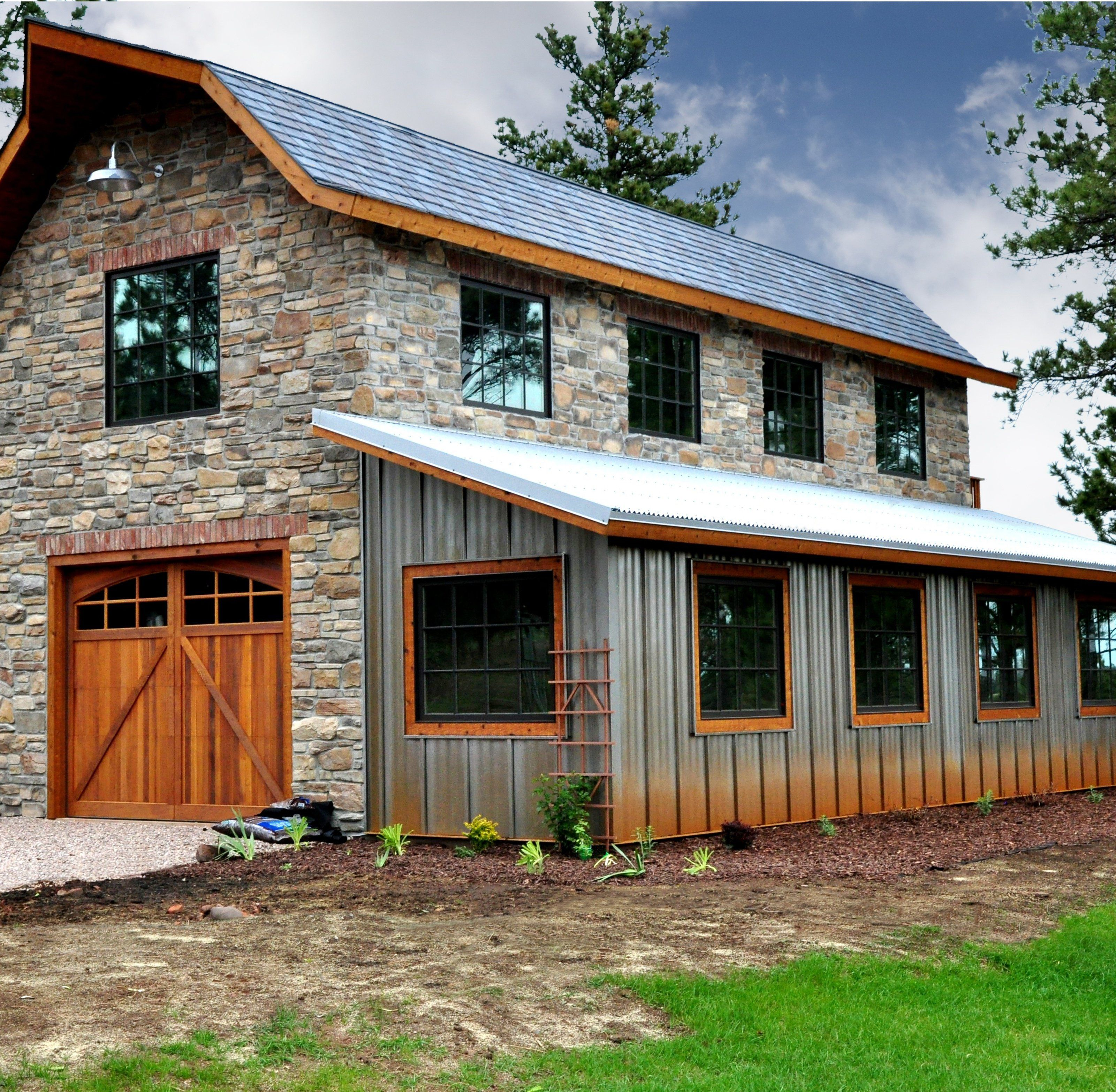 Metal building examples residential commercial barn
