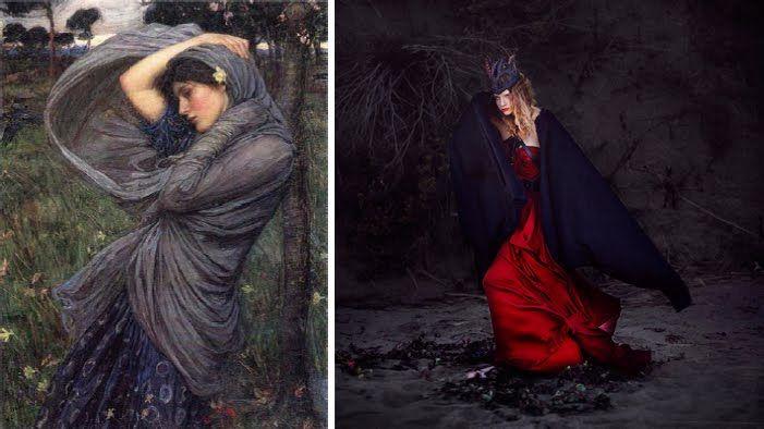 The Beautiful Necessity: Brooke Shaden's Pre-Raphaelite Fashion Shoot