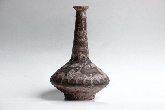 Vintage Agina Vase Ceramano 60s