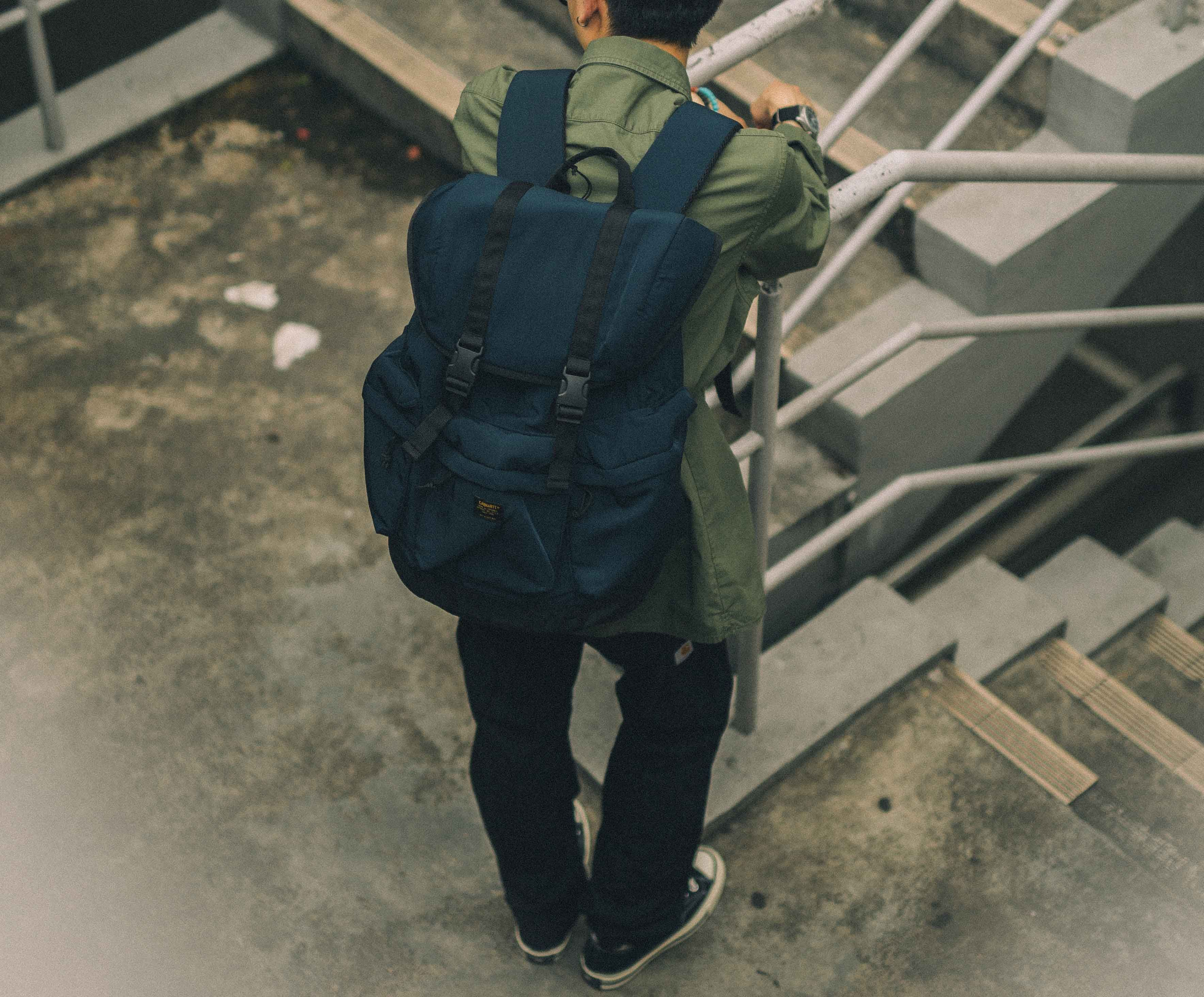 1026d6e010ad Carhartt WIP Fall Winter 17 Collection. Military Backpack in Nylon Twill.