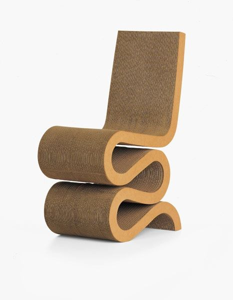 We All Know This Very Famous Paper Chair By The Now Famous Architecte Frank Ghery However Back In 1969 When Met Afbeeldingen Stoelen Kartonnen Meubelen Stoel Vitra