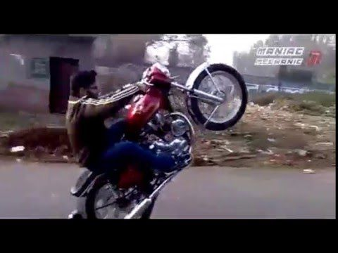 Bullet Stunts – Royal Enfield Stunts – Punjabi Viral Videos