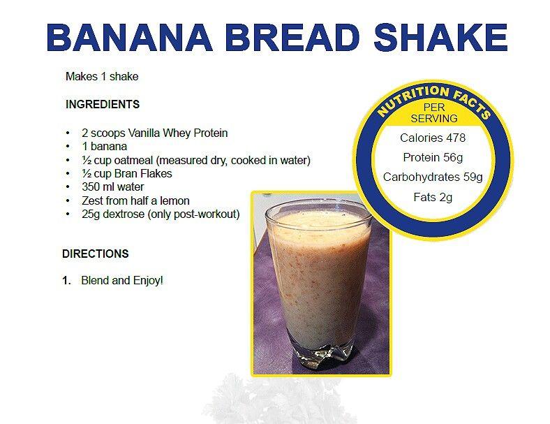 Banana Bread Shake | Food | Pinterest
