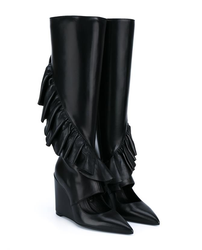 Wedged Ruffle Boots Spring/summerJ.W.Anderson 8BKhp