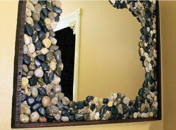 Resultado De Imagen Para Espejos Decorados En Piedra Espejos