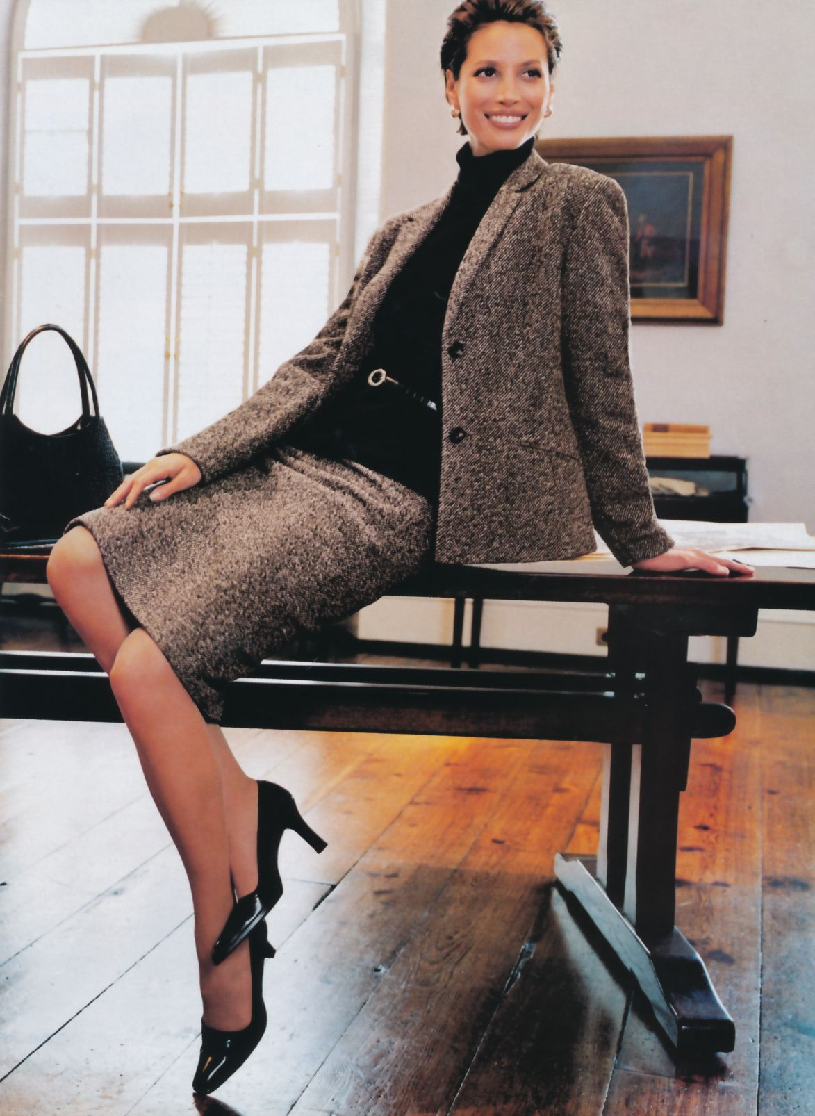 Christy Turlington for Ann Taylor