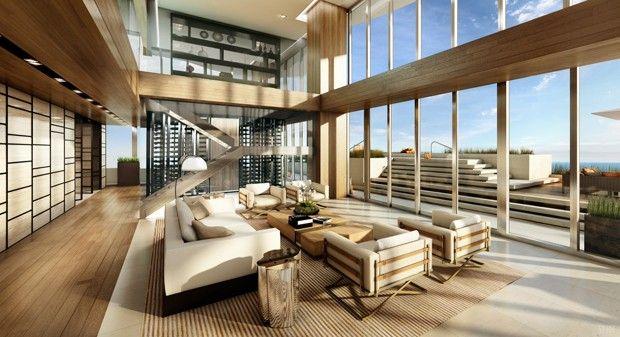 Apê de US$ 40 milhões em Miami (Foto: Divulgação)