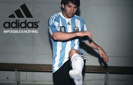 infierno Fraternidad espalda  Leo Messi | Impossible is Nothing | Adidas Adizero F50 Campaign | Leo messi,  Messi, Adidas