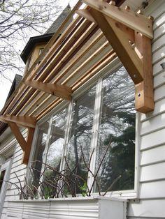 Image Result For Wood Slat Window Awnings Diy Awning Pergola Diy Canopy