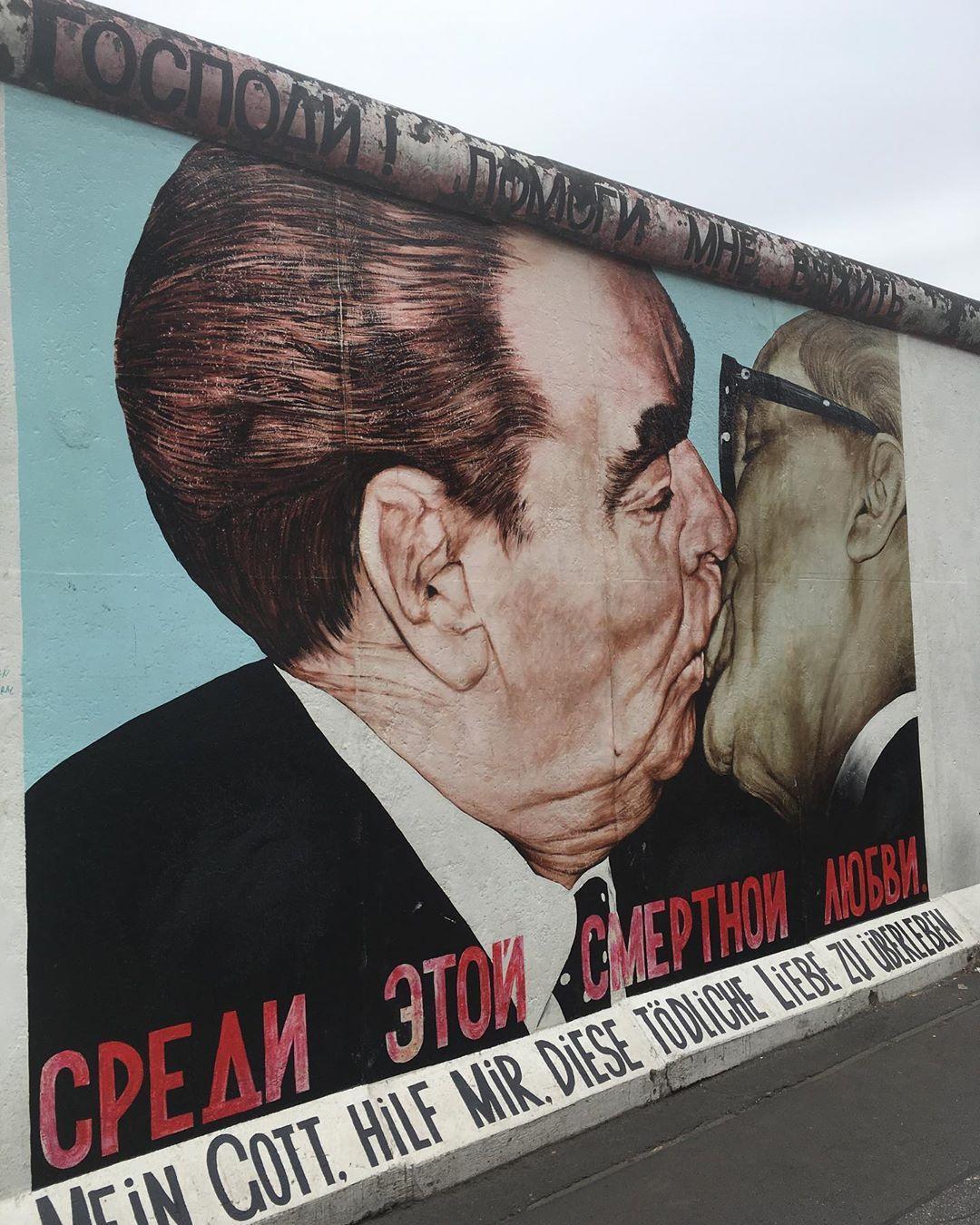 La East Side Gallery Es Una Galería De Arte Al Aire Libre Situada Sobre Una Sección De 1 316 Metros En La Cara Este Del Muro De Berlín Que Fueron Salvados Del