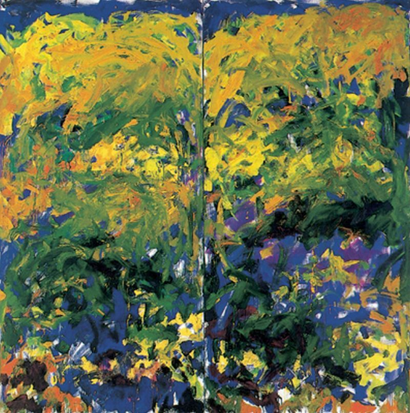 Yama Bato Joan Mitchell La Grande Vallee No Ix Here More Http Www Museumsyndicate Com Artist Php Artist 237 Joan Mitchell Abstract Painting