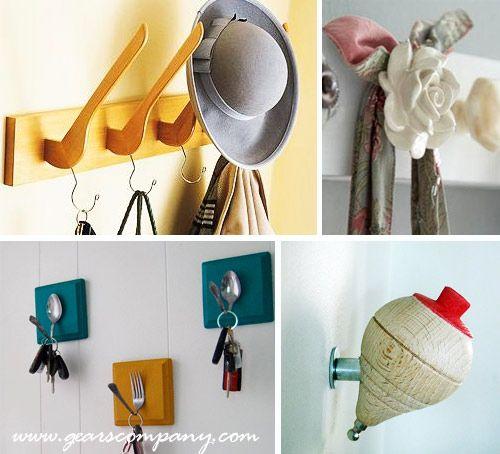 Ideas para percheros pecheros originales percheros - Percheros de pared originales ...