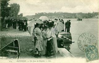 Https Paysbasqueavant Blogspot Fr Pays Basque Carte Postale Bayonne